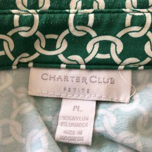 Charter Club Tops - Charter Club Button Down